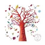 Sticker Arbre à poèmes Djeco