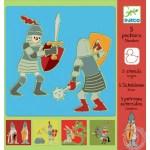 5-pochoirs-chevaliers-djeco