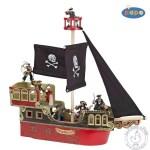 Le bateau des pirates blackbeard - Figurine Papo