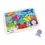 Puzzle marin poisson Chunky - Janod