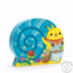 Puzzle escargot bleu - Djeco