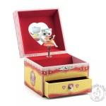 Boîte à bijoux musicale pour petite fille