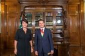 L'Ambassadrice Anne Grillo remet ses lettres de créance au Président Enrique Peña Nieto