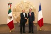 Le ministre des affaires étrangères Jean-Yves Le Drian en visite au Mexique !