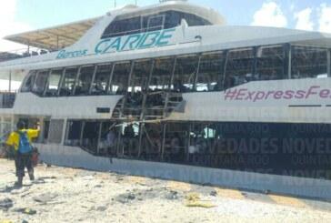 Playa del Carmen – L'explosion du ferry serait en faite un acte de sabotage ! (Video)
