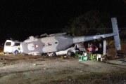 Oaxaca – Un hélicoptère officiel fait 13 morts au sol à son arrivée a Pinotepa Nacional !