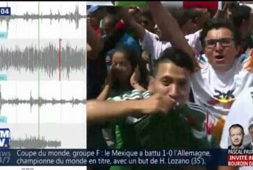 Non, la Coupe du monde 2018 n'a pas provoqué de microséisme au Mexique !