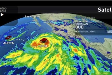 L'ouragan BUD continue sa tarjectoire le long du pacifique Mexicain ! (video)