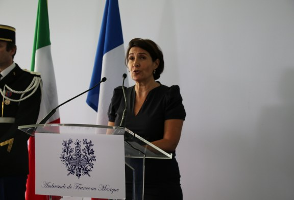 14 juillet – Intervention de l'Ambassadrice Anne Grillo à l'occasion de la Fête Nationale !