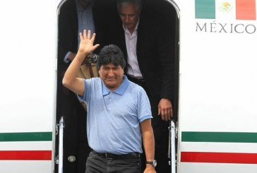 Evo Morales est arrivé au Mexique ! (Vidéos)