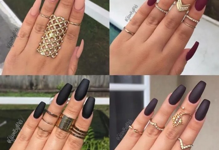 Las Uñas Mate Vuelven A Ser Tendencia Checa Estas Ideas