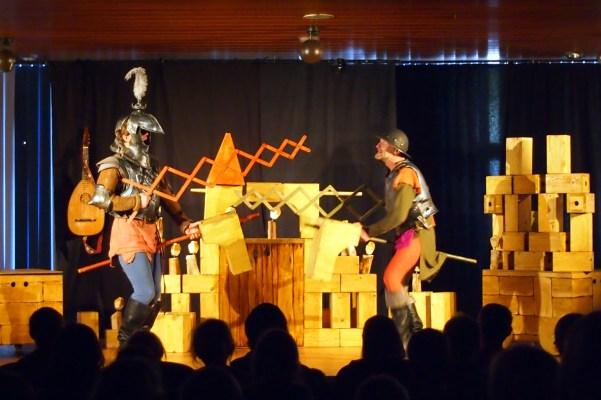 "Das Weite Theater & Theater des Lachens: ""Ritter, Ritter"", Gladenbach 2013"