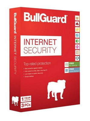 BullGuard Internet Security 3-PC 1 jaar