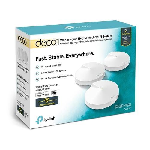 TP-Link Deco P7 Hybride Powerline Multiroom Wifi 3-Pack