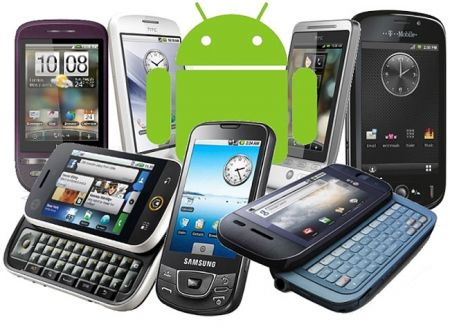 android hardware chart compares specifications for all android phones 1 - Todos os smartphones Android num só site