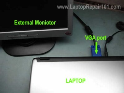 Laptop is dead  How to troubleshoot    Laptop Repair 101 Connect external monitor