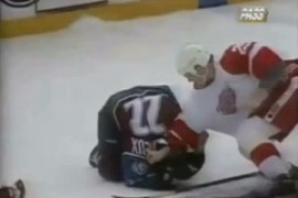 Brawl in Hockeytown