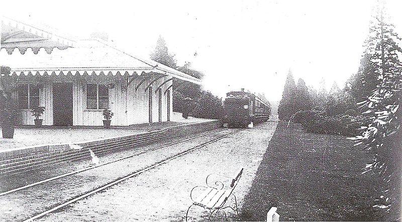 Brookwood North, 1907