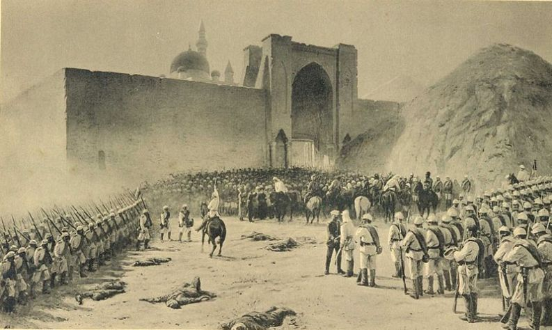 The_end_of_the_siege_of_Bayezid_June_28,_1877