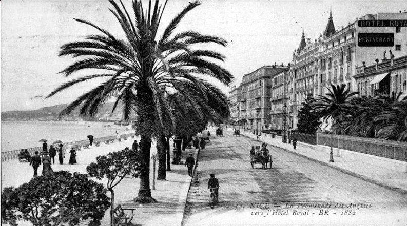Promenade Des Anglais, Nizza 1882