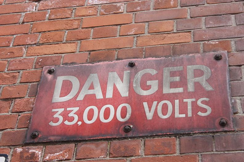 Danger sign Belfast, Ardfern/Commons (CC-BY-SA 3.0)