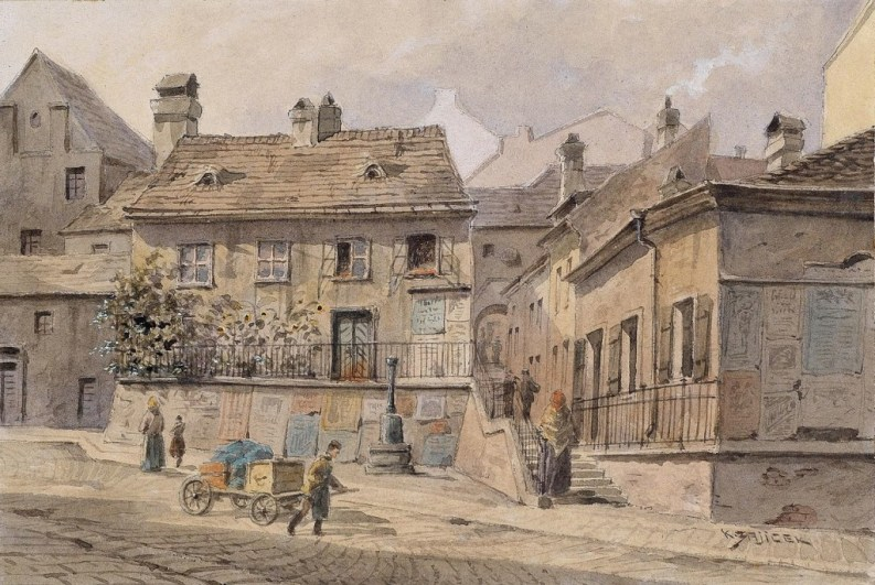 Magdalenagrund, dipinto di Karl Wenzel Zajicek (1860 — 1923)