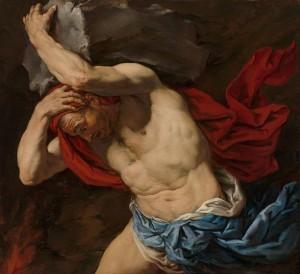 """""""Sisifo"""", Antonio Zanchi, c.a 1660-1665."""