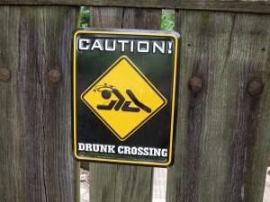 """drunk crossing"" (Pixabay)"