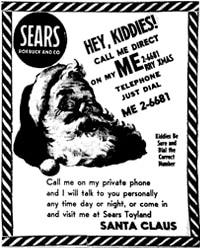 Il volantino di Sears del 195