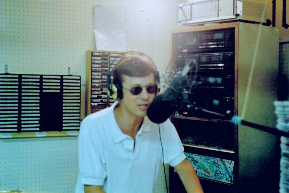 Maurizio Canepa in trasmissione a Ciccio Riccio tra la fine degli anni '80 e i primi anni '90.