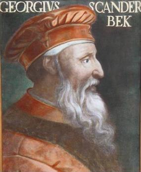 Giorgio Castriota Scanderberg, ritratto