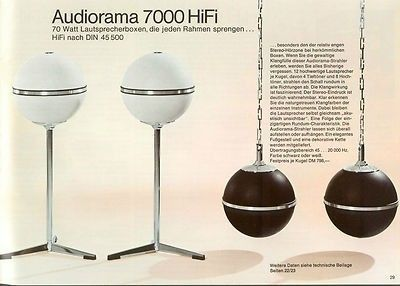 casse Grundig Audiorama, anni '70