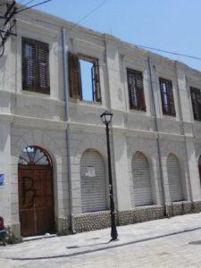 Un edificio a Scutari.