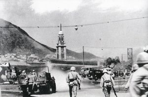 Hong Kong, 1941: esercito giapponese assalta la stazione ferroviaria di Tsim Sha Tsui