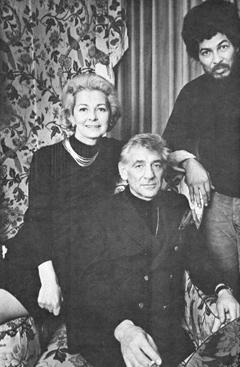Bernstein's party, NY 1970