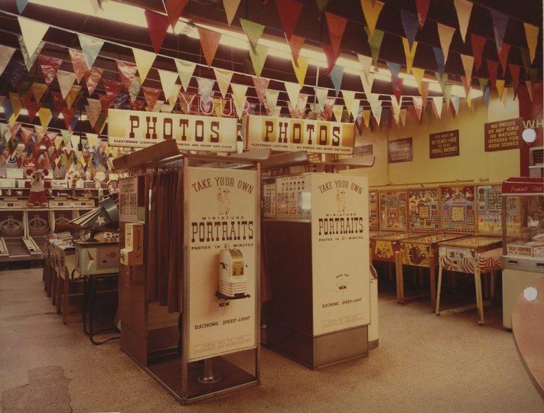 """Wonderland arcade"" a Kansas City nel 1968"