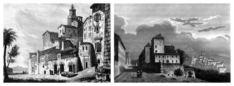 vedute di Grasse, 1838