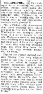 Women's Wear Daily, 28 novembre 1960