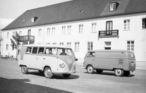 Volskwagen Type 2 in versione minibus e furgone.