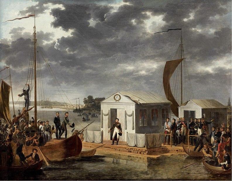 Pace di Tilsit, 7 luglio 1807