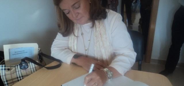 Visita da Diretora da Segurança Social de Setúbal à LAQC
