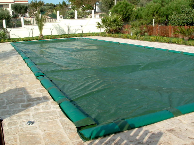 Copertura piscine salsicciotti-Laqua
