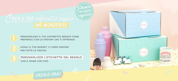 mr wonderful modena cofanetto personalizzato