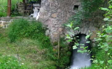 Molino de rodezno, La Teyera