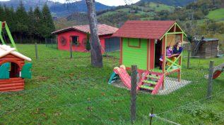 Casitas de juegos en La Quintana de Romillo