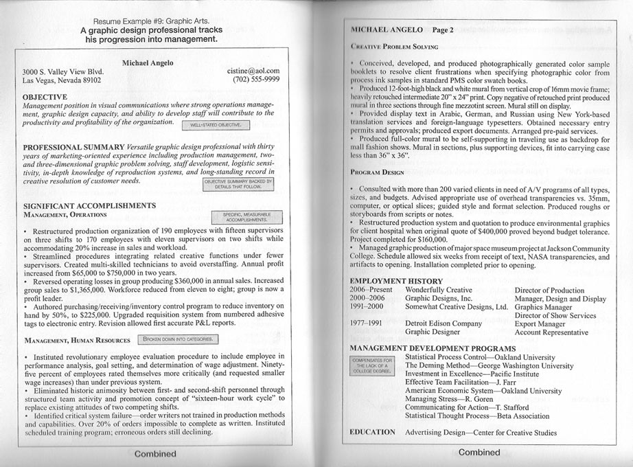 Resume Format Page 2. 2 page resume sample example ceo resume page ...