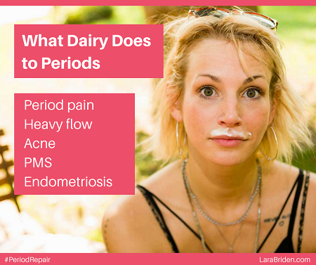 What Dairy Does to Periods - Lara Briden - The Period