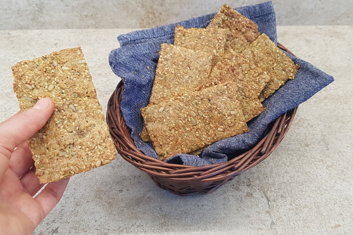 Crackers de Semillas Keto
