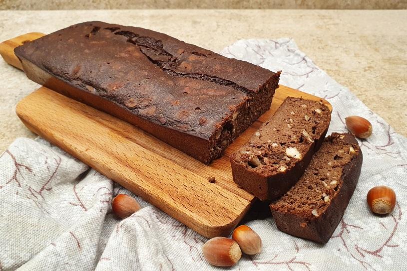 Puddig keto con cacao y avellanas
