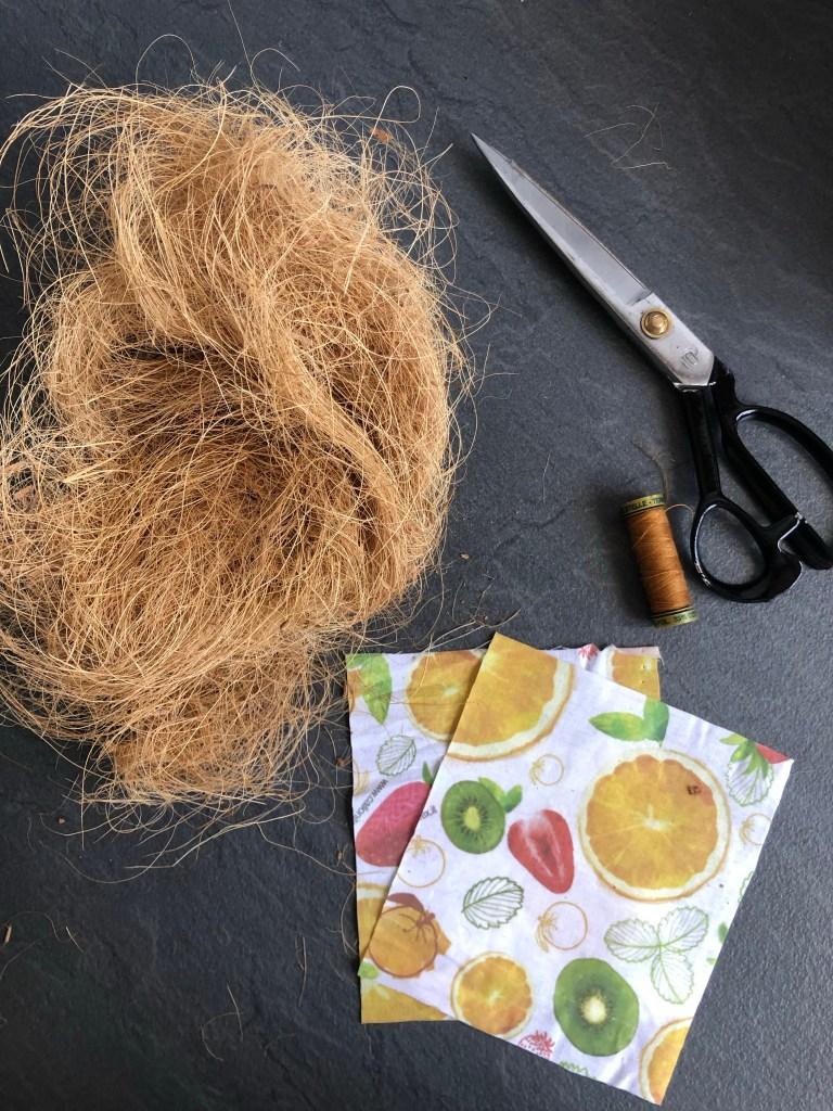 fibra di cocco spugna lavabile